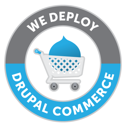 We deploy Drupal Commerce