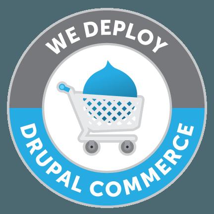 We deploy Drupal Commerce