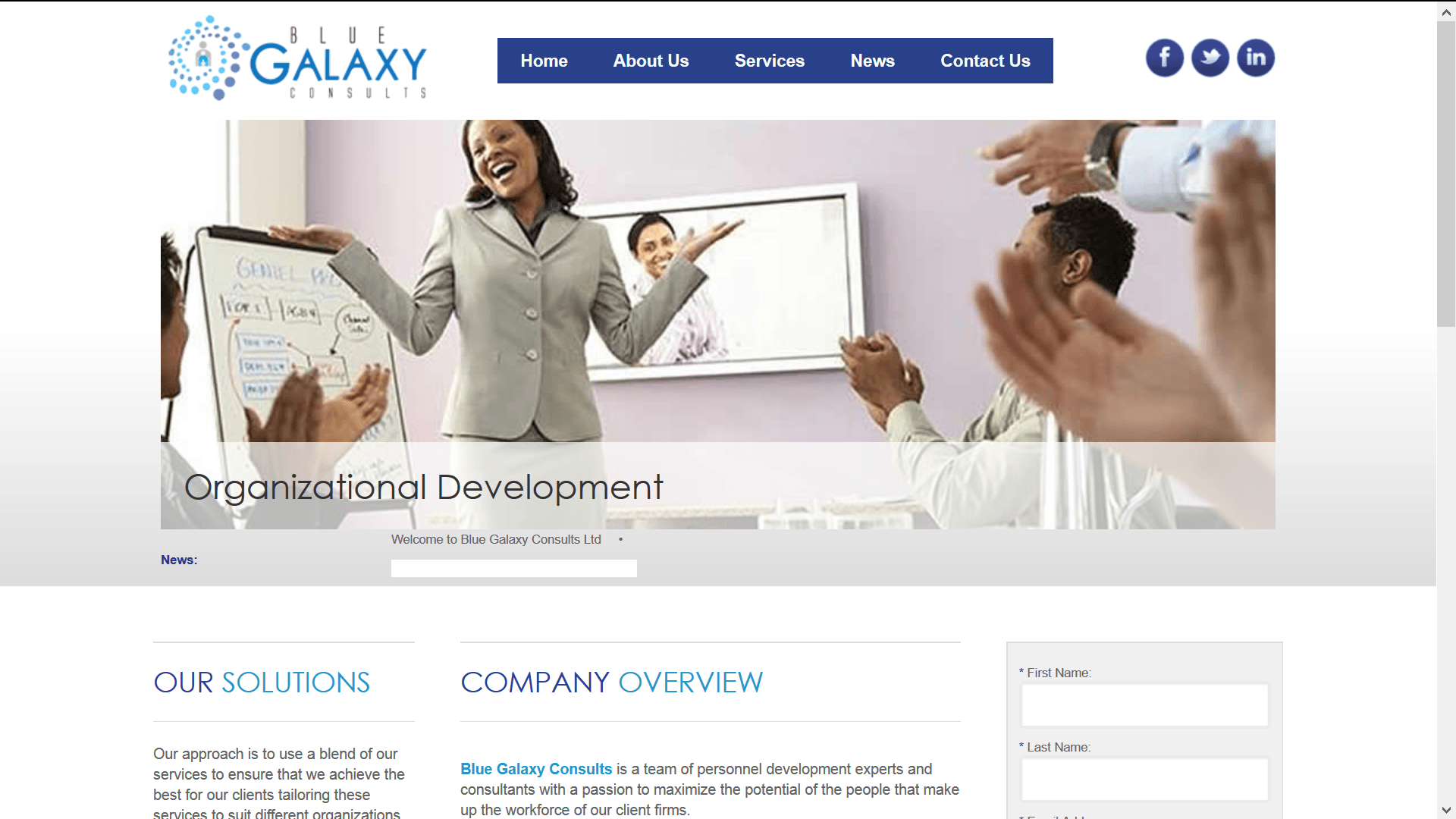 Blue Galaxy Consults Ltd