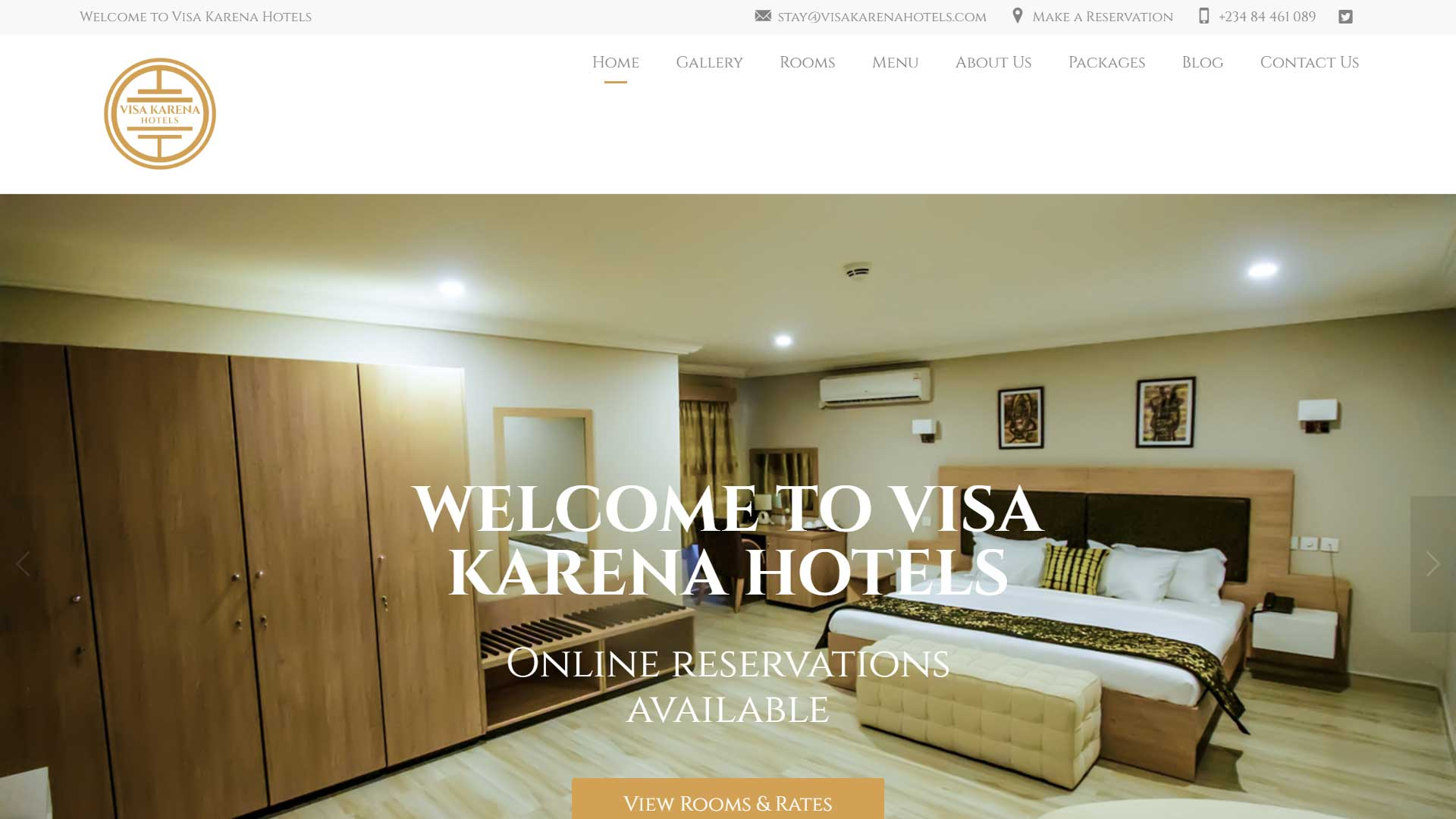 Visa Karena Hotels